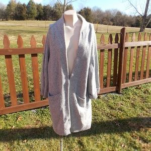 Margaret O'Leary Duster Cardigan Sweater Size 2